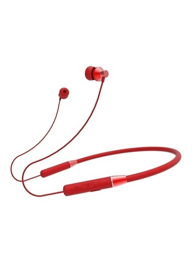 Lenovo He05 Bluetooth 5.0 Chip Kulaklik Kablosuz Stereo Spor Manyetik Kulaklik Su Geçirmez Kulaklık Kırmızı